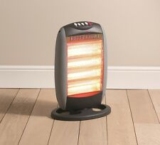 Daewoo Powerful 1600W Portable Home & Office Electric Oscillating Halogen Heater