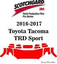 3M Scotchgard Paint Protection Film Pro Series Kit 2016 2017 Toyota Tacoma Sport