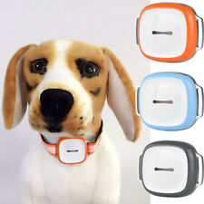 Black Pet GPS WiFi Tracker Safety Real Time Tracking Anti-Lost Collar Candid