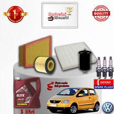 Filtres Kit D'Entretien Huile Bougies VW Fox 1.2 40KW 55CV à Partir De 2011->