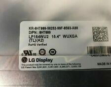 """HT009  Genuine Dell 15.4"""" Wuxga DUAL-CCFL LCD Panel NEW"""