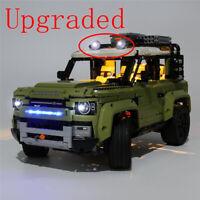 LED Licht Set Für 42110 LEGO Technic Land Rover Defender kit (mit Anleitung)