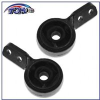 New Pair of 2 Front Lower Control Arm Bushings & Brackets For BMW E36 3 Series