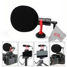 Vivitar Microphone for Nikon Z7 II Z6 II Z6 Z5 Z50 Mirrorless Digital Camera