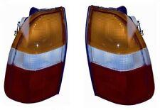 COPPIA FANALI FANALINI STOP POSTERIORI GIALLI MITSUBISHI L200 96>00 1996>2000