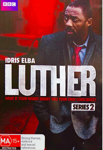 Luther - Series 2 BBC-DVD) Region 4 - NEW+SEALED