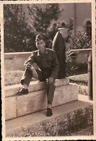 ---- FOTO DEL 1950ca - MILITARE ESERCITO ITALIANO DI FANTERIA -