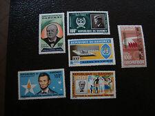 DAHOMEY - timbre - yt aerien n° 34 36 n** 33 35 42 n* (42 pliure) (A7) stamp