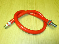 Air Leader Hose 600mm x 8mm Hose PCL HVLP & 1/4 Male End Air Tools Garage Body