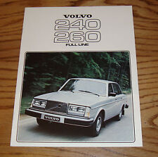 Original 1978 Volvo 240 & 260 Full Line Sales Brochure 78 242 244 245 264GL