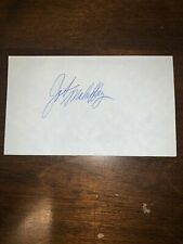 JOHN MAHAFFEY - GOLFER - AUTOGRAPH SIGNED - INDEX CARD -AUTHENTIC - C815