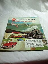 American Flyer No. D2278 Catalog World of Transportation 36 Pages