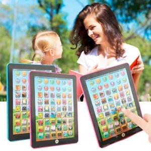 Baby Tablet Educational Toys Kids For 3 - 7 Years Toddler Learning English Gift