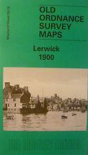 OLD ORDNANCE SURVEY MAP LERWICK SHETLAND  1900 SHEET 53.13 NEW