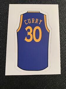 "Stephen Curry Jersey Sticker - Hydro, Laptop, Yeti - 4"" x 2.3"" Warriors"