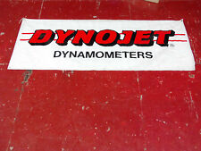 "DYNOJET DYNAMOMETER BANNER! 7ftx2'10"""
