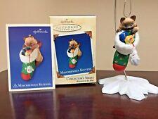 2003 Hallmark Ornament Mischievous Kittens  #5 in Series