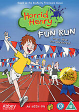Horrid Henry - Fun Run Gold Medal Edition (DVD, 2012) Brand new and sealed