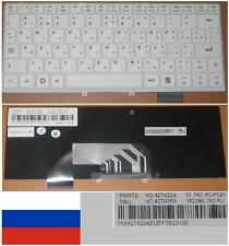 Clavier Qwerty Russe IBM S9 S10 42T4224 42T4224, 42T4259, 8C9120 Blanc