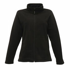 Regatta Women's Micro Fleece Outdoor Jacket Full Zip Professional Workwear 14 Trf56580014l Black