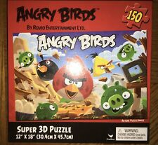 Angry Birds Super 3D Puzzle 150PC 12x18 Cardinal