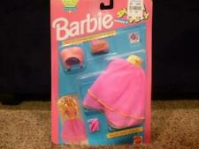 Barbie Snap On N Play Easy Dress Outfit Pink Skirt Top 4530 NIP 1991 Mix Match