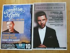 Professor Green UK tour concert gig posters x 2