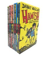 Danny Wallace Hamish 5 Books Collection Set The Gravityburp, The Neverpeople