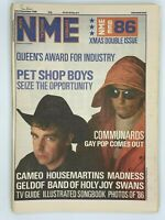 NME 20/27 December 1986 Xmas Double Issue Pet Shop Boys Cameo Madness Swans