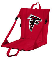ATLANTA FALCONS STADIUM SEAT CUSHION w/ Handle Padded Bleacher Game Pad