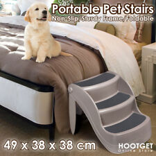 Pet Dog 3 Steps Stairs Ladder Cat Folding Washable Multi Stairs Ramp Portable