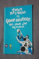 PROGRAMME RUGBY )) FRANCE V ANGLETERRE 1988 Paris/Parc des Princes / ENGLAND...