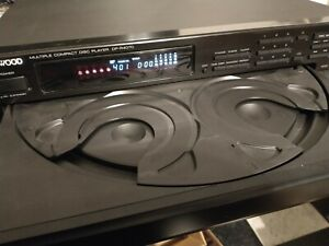 Kenwood DP-R4070 Multiple CD Player 5 Disc Changer TESTED/WORKING with Remote