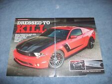 """2012 Ford Roush RS3 Mustang Article """"Dressed to Kill"""""""