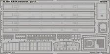 Eduard 1/32 F-14D Tomcat armamento para Trumpeter Kits # 32309