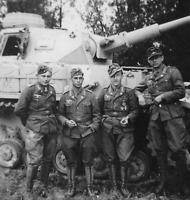 WW2 WWII Photo German Panzer IV Crew PzKpfw. IV Germany World War Two / 4190