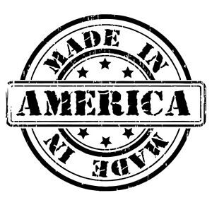 MADE IN AMERICA Proud American USA Outdoor Vinyl Car Decal Window Sticker