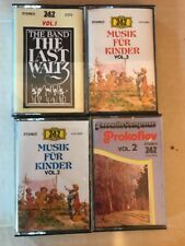 Lot Of 4 Classical 747 Saudi Arabia Musik Fur Kinder Cassette Free US Shipping