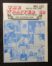 1995 THE WRAPPER Non-Sports Fanzine Magazine #127 FN Philly Convention