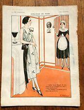 1920s La Vie Parisienne French Magazine Page-- Noblesse de Robe