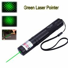 10mile Green Laser Pointer Pen 532nm 5mw 851 Powerful Visible Beam Light Lazer