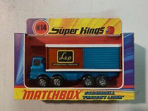 MATCHBOX Super Kings K-14 Scammell Freight Liner