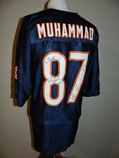 NWT NFL Muhsin Muhammad Chicago Bears Signed Autographed #87 Jersey sz XL