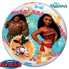 """Disney Moana Birthday Party Supply Moana 22""""/56cm Single Bubble Balloon"""