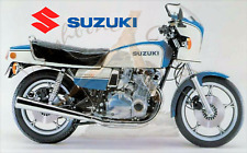Suzuki GS1000S blue & white Fridge Magnet