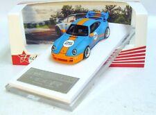 """1:64 Fuelme Porsche 911 (993) Gunther Werks """"Gulf"""" gulf blue orange L.E. 999 pcs"""
