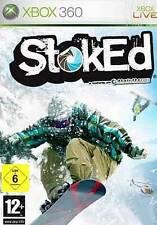 XBOX 360 stoked * White Snowboard usato come nuovo