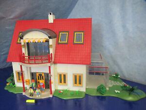 4279 4281 Wintergarten Wohnhaus Terasse Klingel v Zimmer Blumen Playmobil 2528