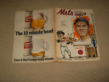 1968 NY  METS Yearbook - Revised Edition Very Good Condition