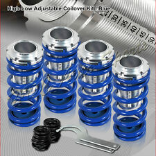 For 1988-2000 Honda Civic CRX Blue Suspension Scale Lower Coil Over Springs Kit
